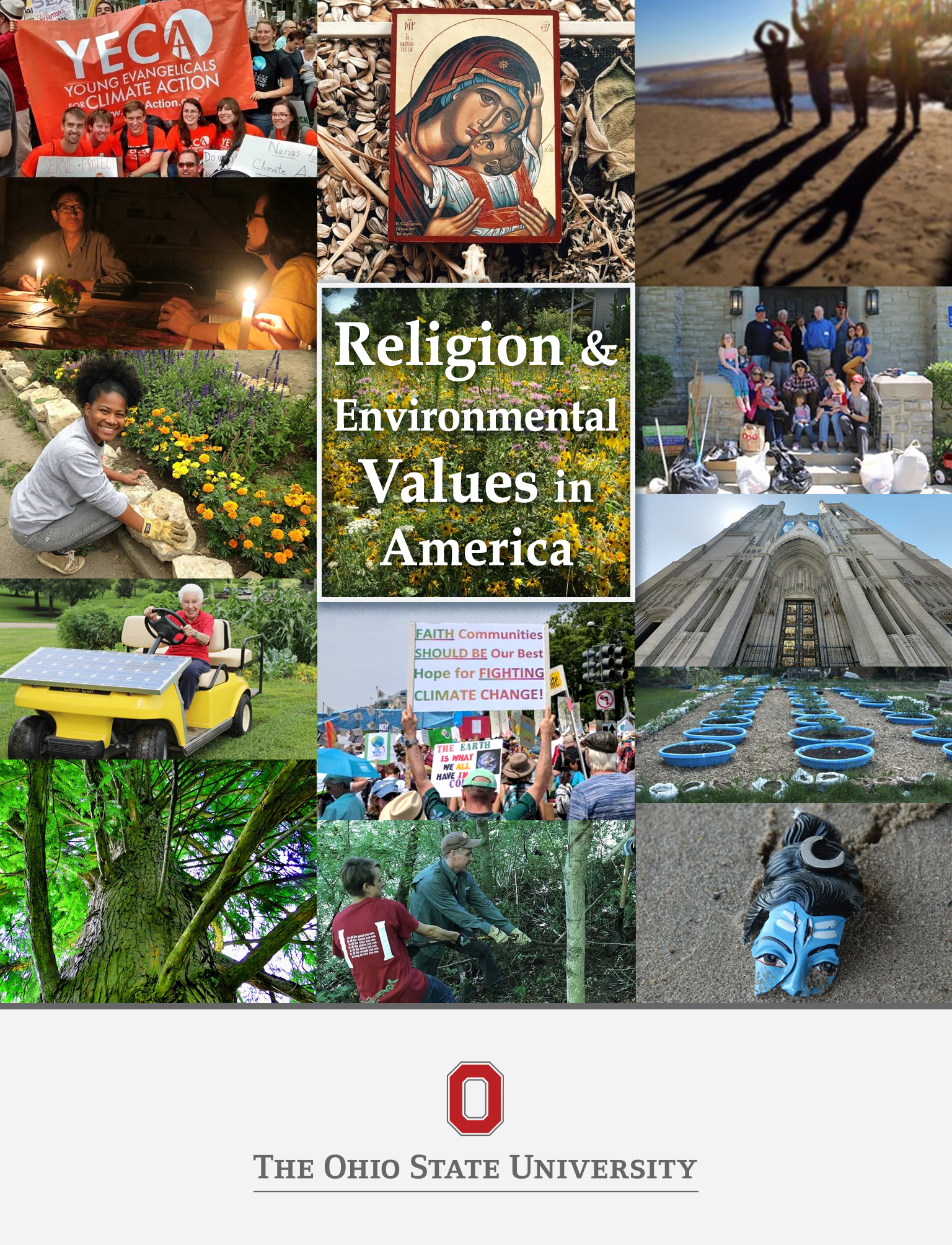 Cover image for Religion and Environmental Values in America