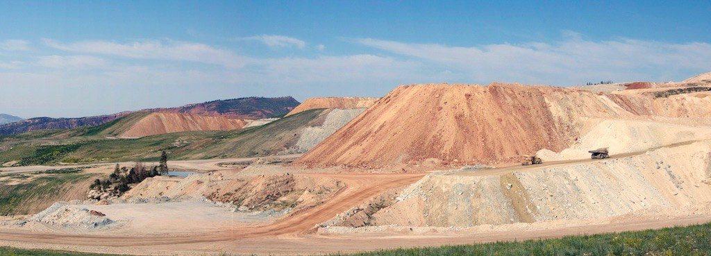 Mine Carved into Utah Mountainside