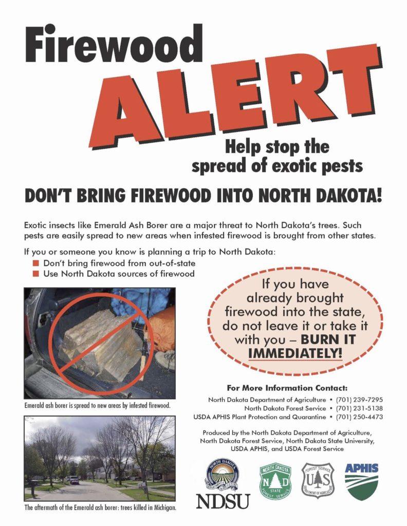 Firewood Alert Flyer