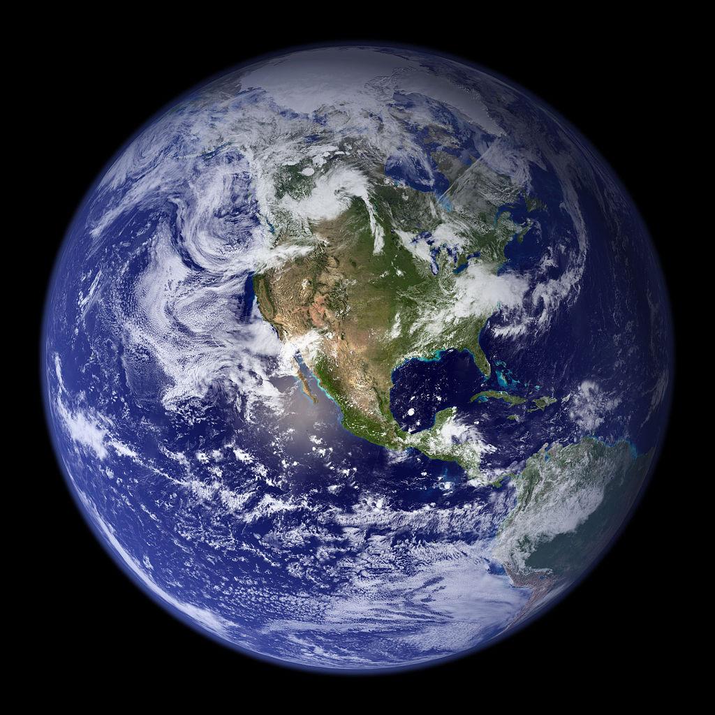 Blue Marble Western Hemisphere.