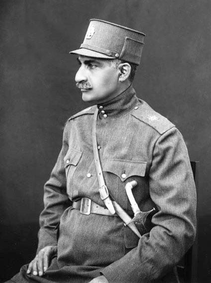 Image of Reza Shah Pahlavi Shah of Iran, 1925-1941.