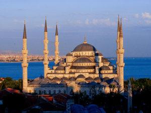 """Image of Sultan Ahmet, or """"The Blu"""