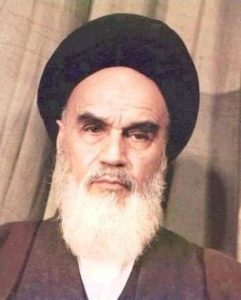 Image of the Ayatollah Khomeini, C.C.0