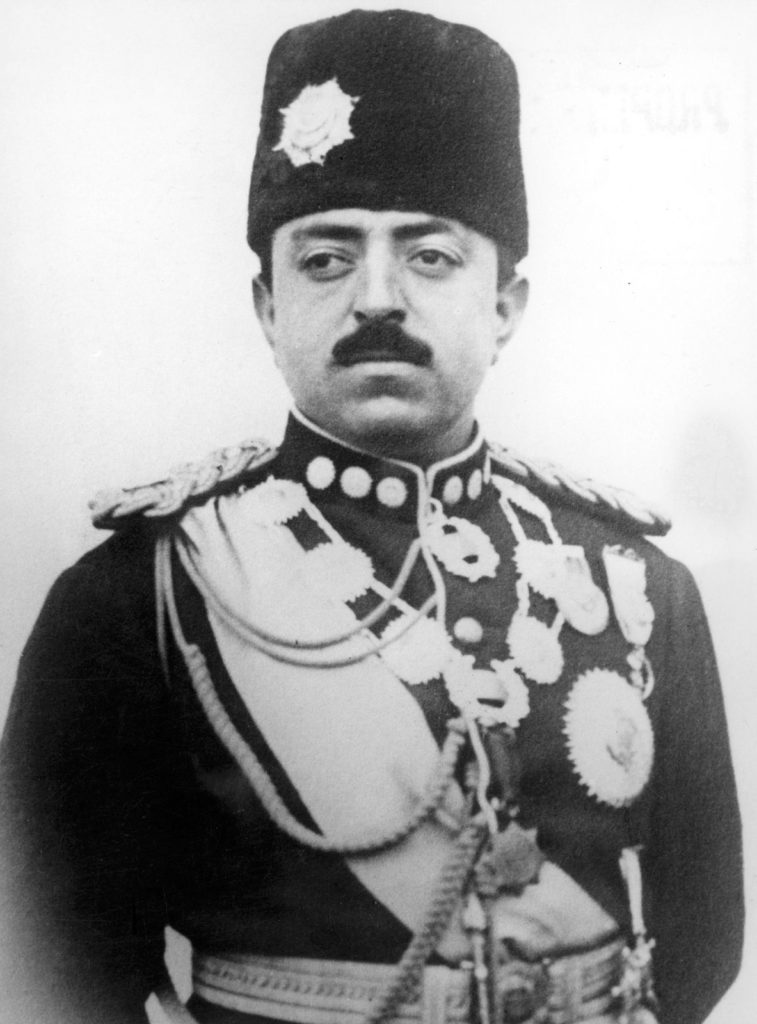 Image of Amanullah Khan, King of Afghanistan, 1919-1929.