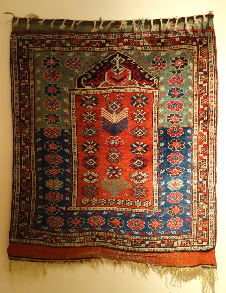 Image of Prayer Rug (Turkey) By Daderot (Own work) [CC0], via Wikimedia Commons