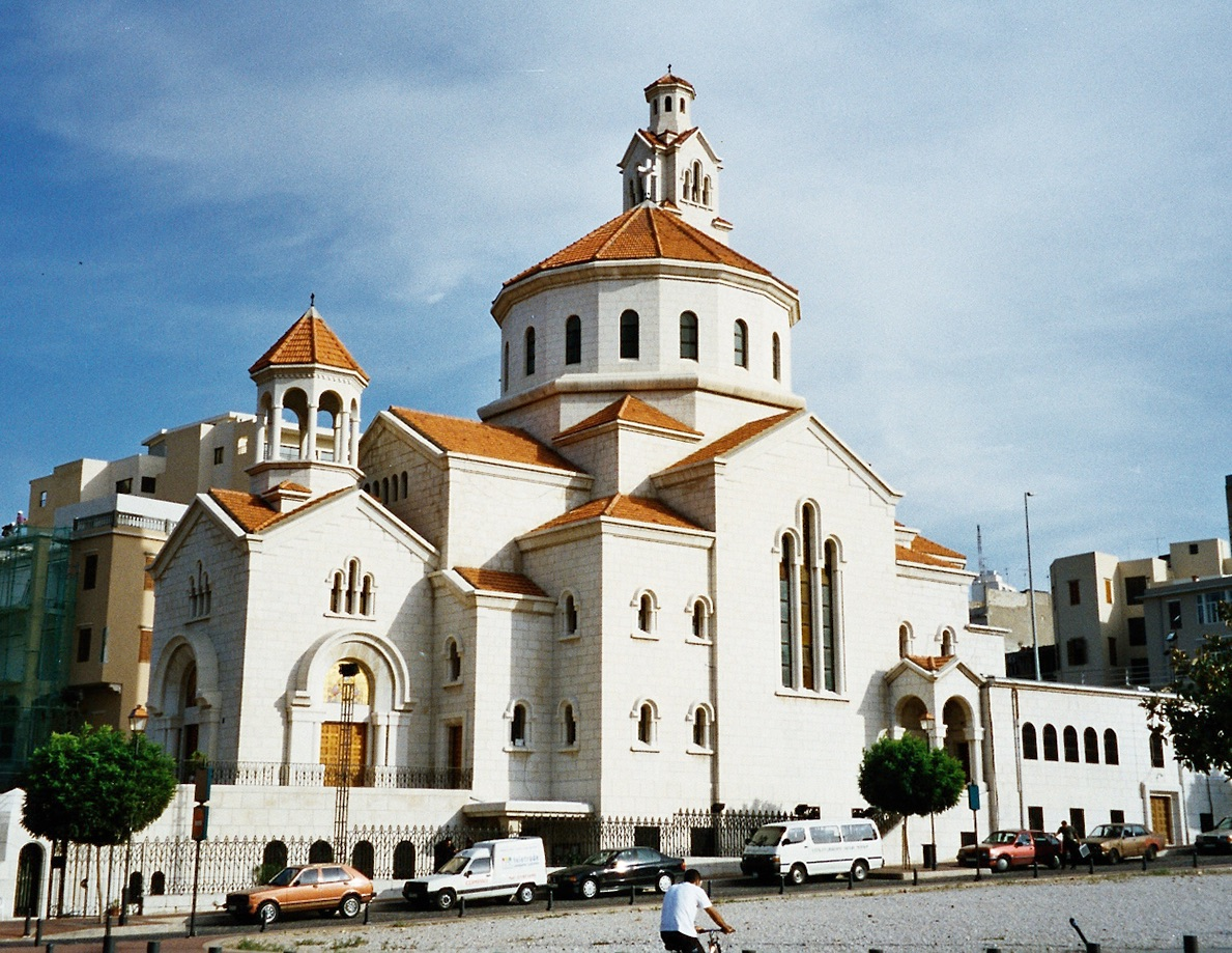 Image of Armenian Catholic Cathedral in Beirut, Lebanon