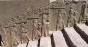Image of a Zoroastrian Equinox ceremony