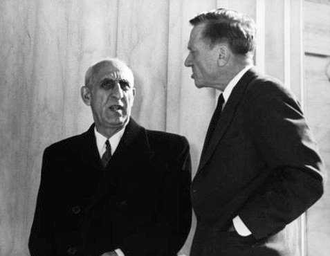 Image ofMohammad Mossadegh Prime Minister, Iran, 1953, while visiting the Supreme Court in Washington D.C., Prime Minister ​