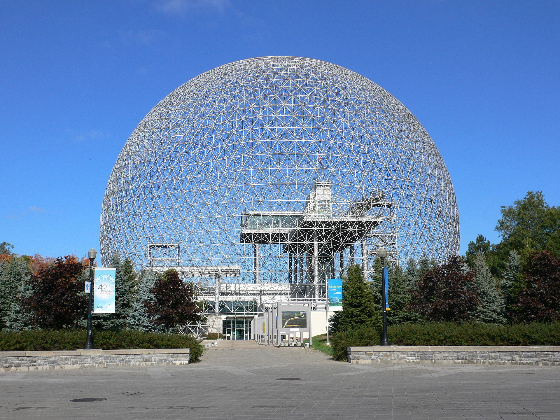 geodesic dome Montreal Biosphere