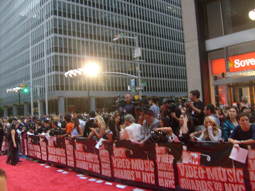 Red Carpet for Music Video Awards