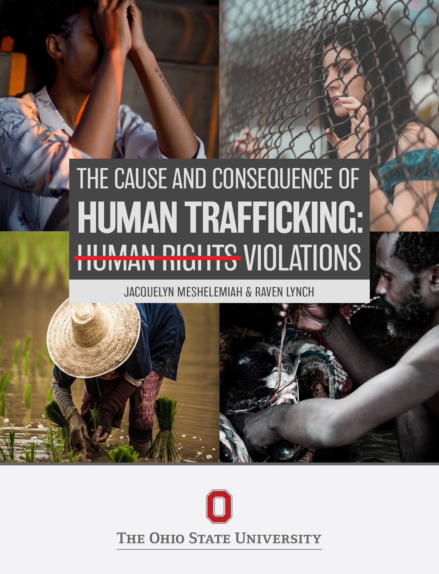 Cover image for The Cause and Consequence of Human Trafficking: Human Rights Violations