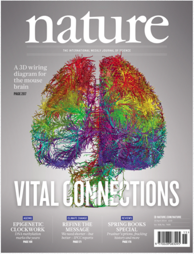 cover of the Journal Nature