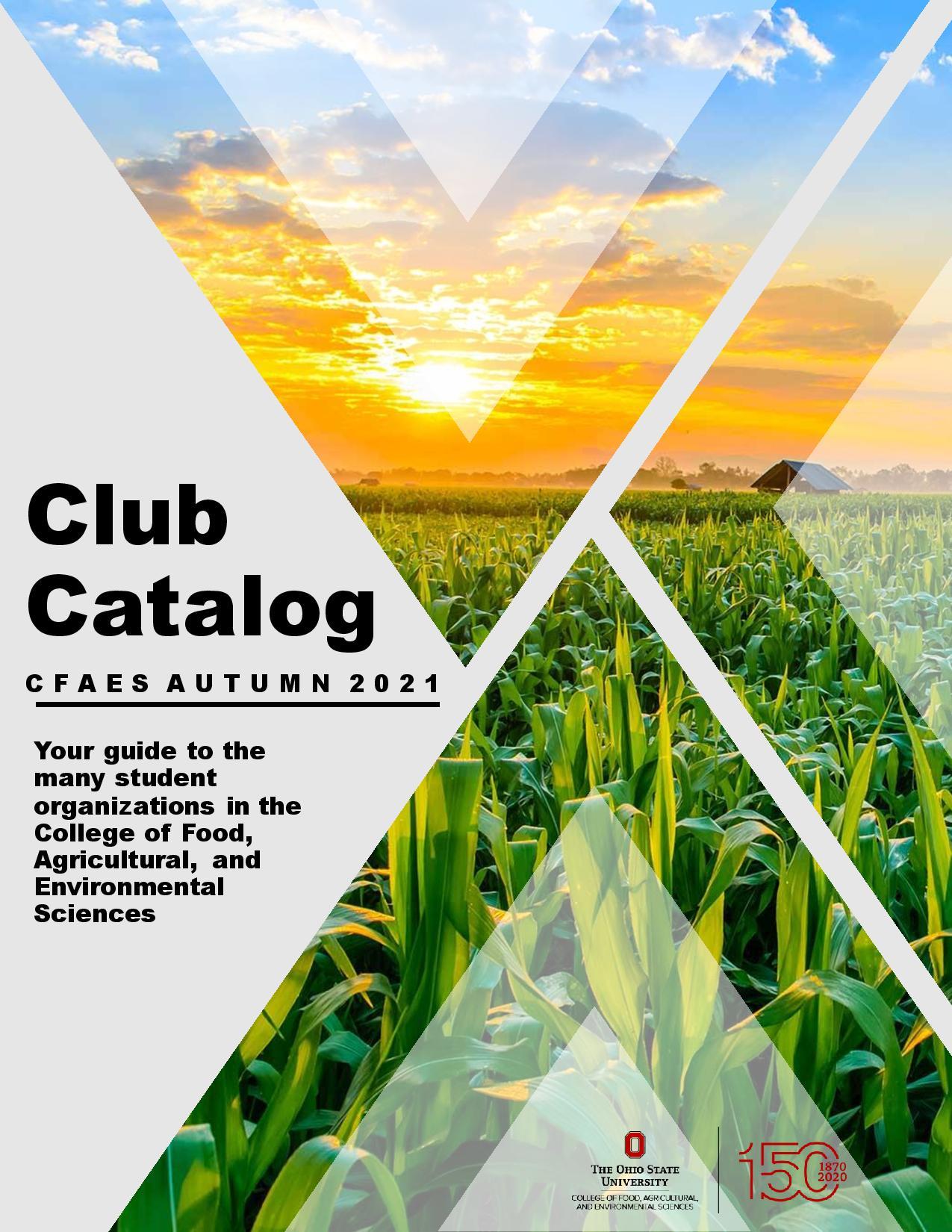 Cover image for CFAES Club Catalog
