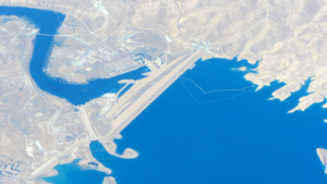 Image of Aerial View of Mosul Dam, Iraq