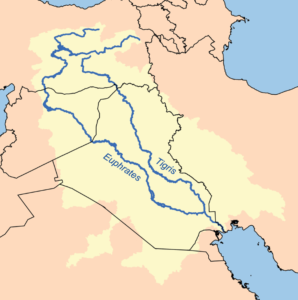 Image of Tigris-Euphrates drainage basin