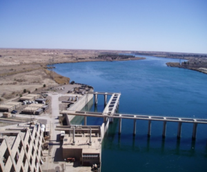 Image of Haditha Dam in IRaq