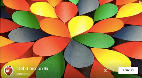 Screenshot of Deb Lairson's profile image