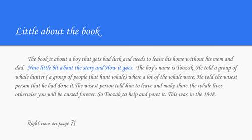 Screenshot of a digital text's introduction