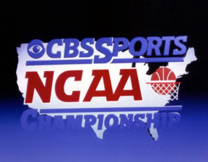 CBS Sports NCAA graphic rendering