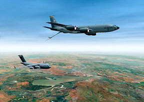 fuel tankers flying