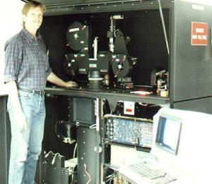 demos of a digital film printer