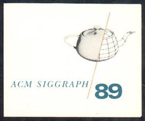 ACM siggraph logo of a teapot