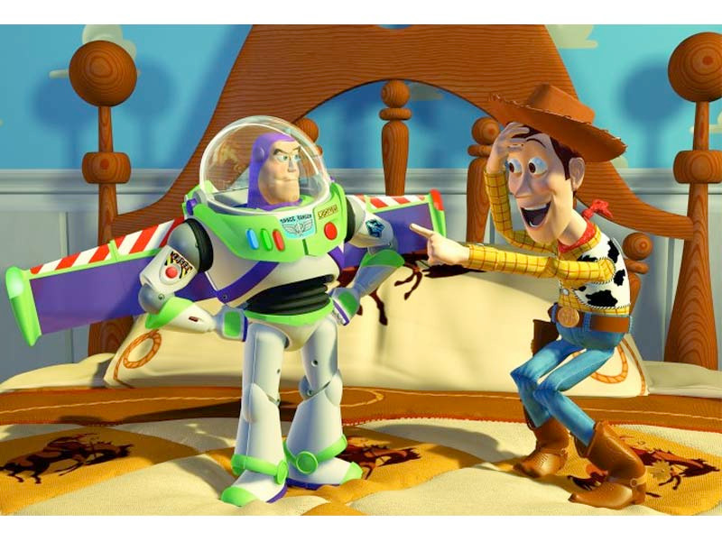 a scene from Toy Story