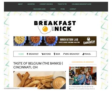 Breakfast with Nick blog