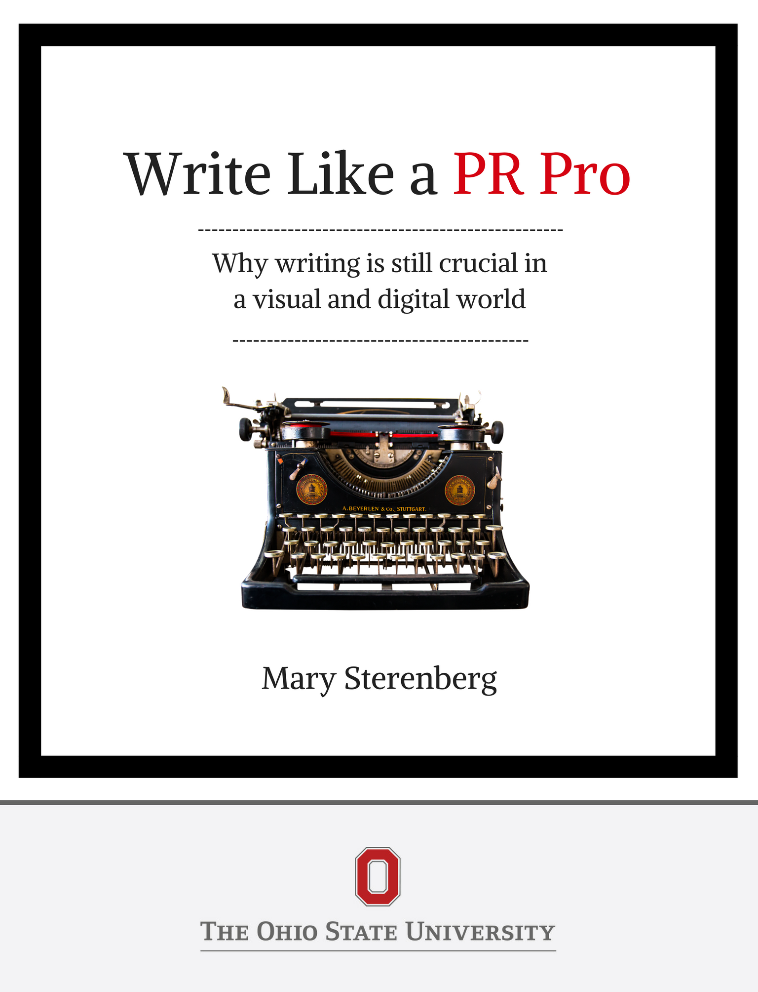 Cover image for Write Like a PR Pro