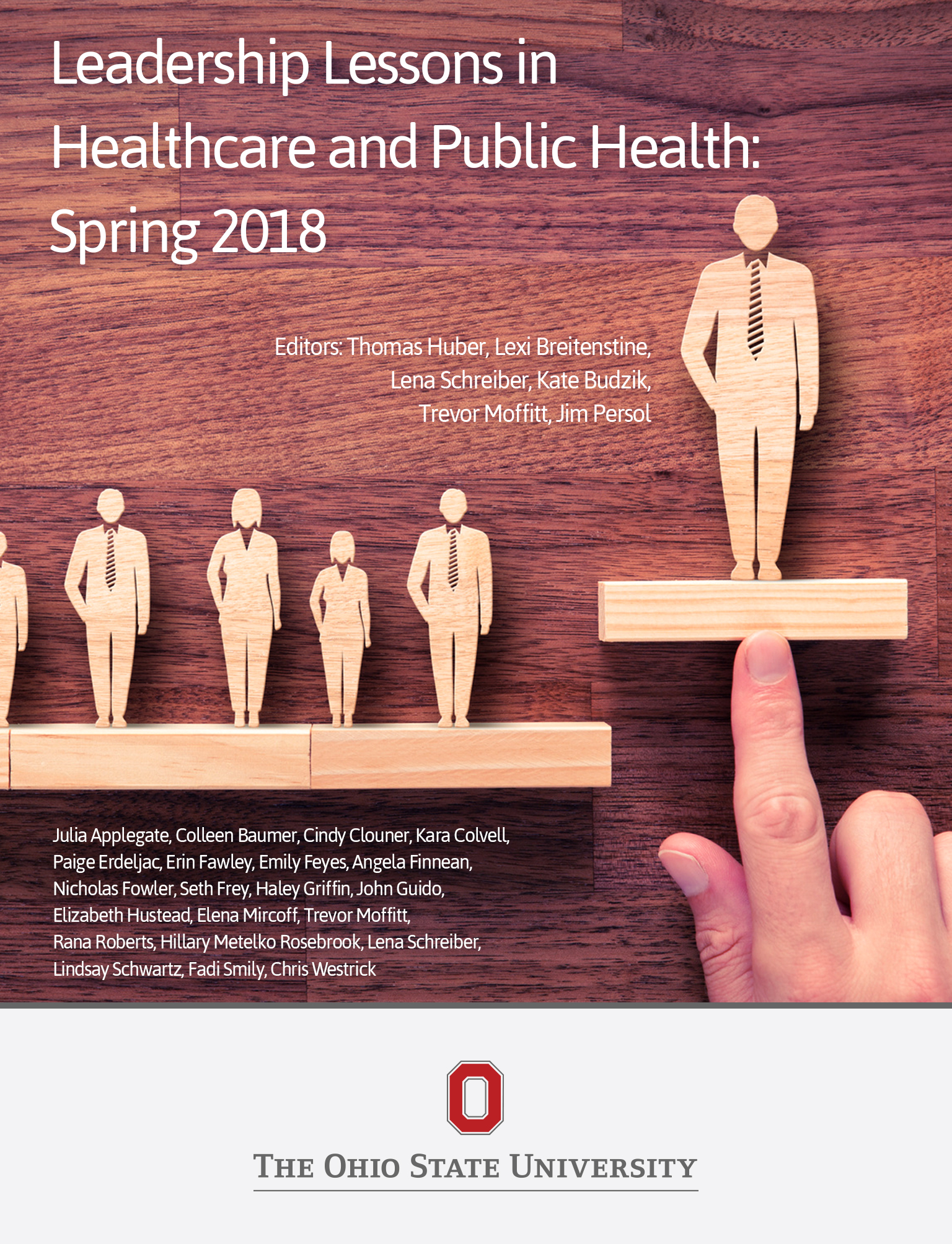 Cover image for Leadership in Healthcare and Public Health