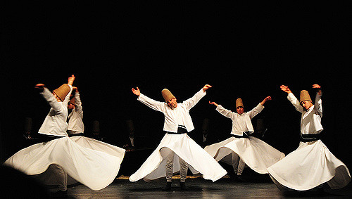 Image of Dervish Sufi Order. by Peter Morgan. CC 2.0. via Flickr