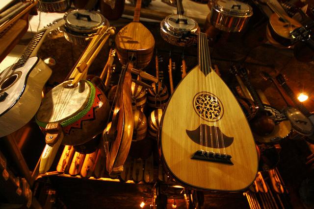 Image of Musical Instruments in Grand Bazaar