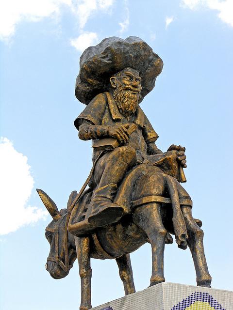 Image of Nasreddin Hoca. by Dennis Jarvis, CC 2.0, via Flickr