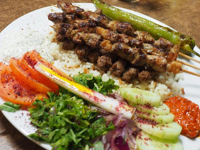 Image of Shish Kebab. By roland Tanglao. C.C.0, via Flickr
