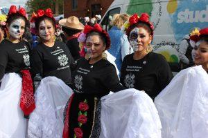 El grupo de danza folclórica Tepehuani Nell