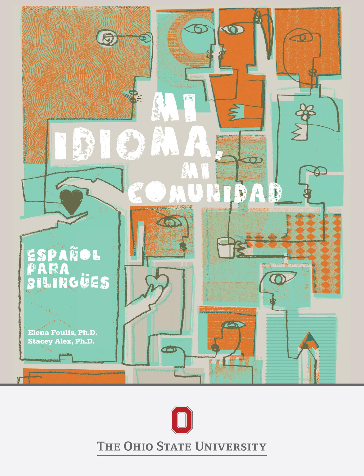 Cover image for Mi idioma, mi comunidad: español para bilingües