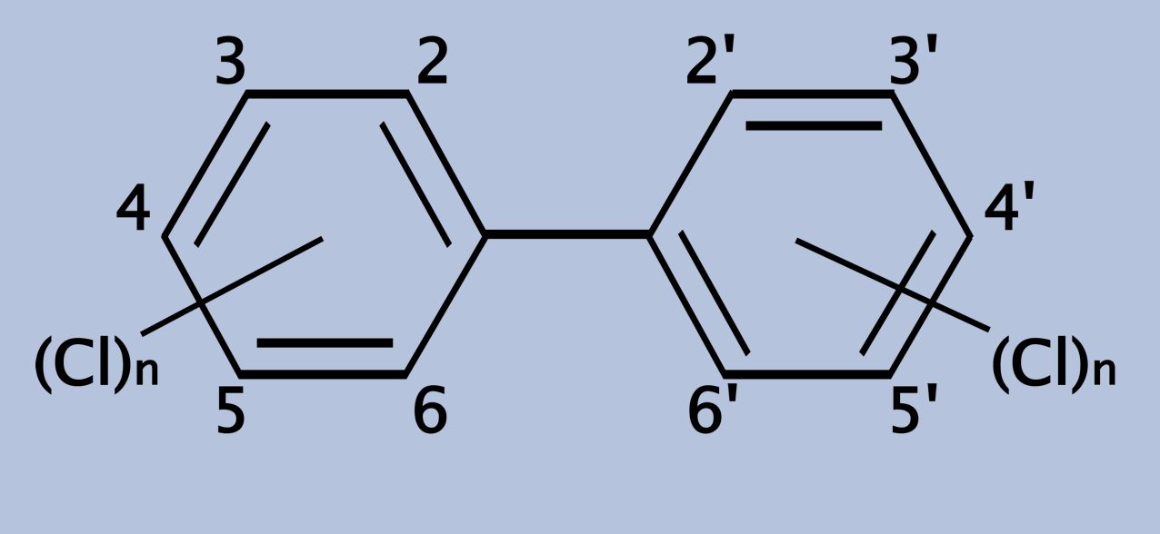 chemical structure of PCB